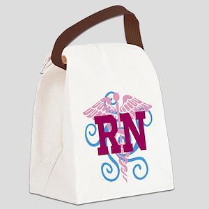 RN swirl Canvas Lunch Bag