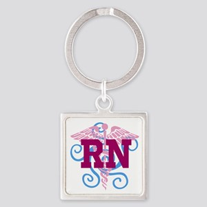 RN Swirl Keychains