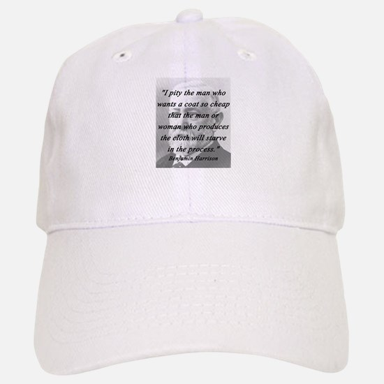 Harrison - Pity the Man Baseball Baseball Baseball Cap
