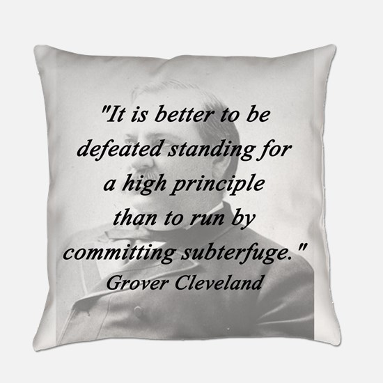 Cleveland - High Principle Everyday Pillow