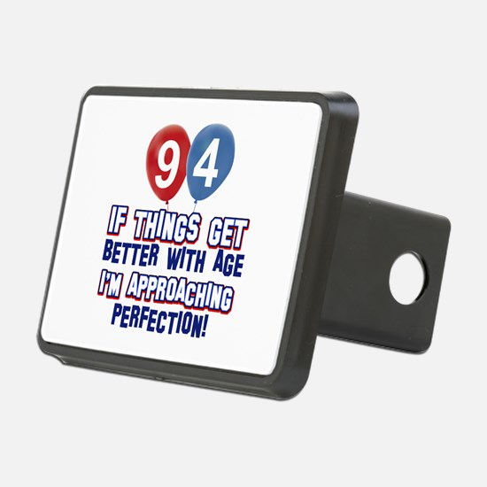 94 year Old Birthday Designs Hitch Cover