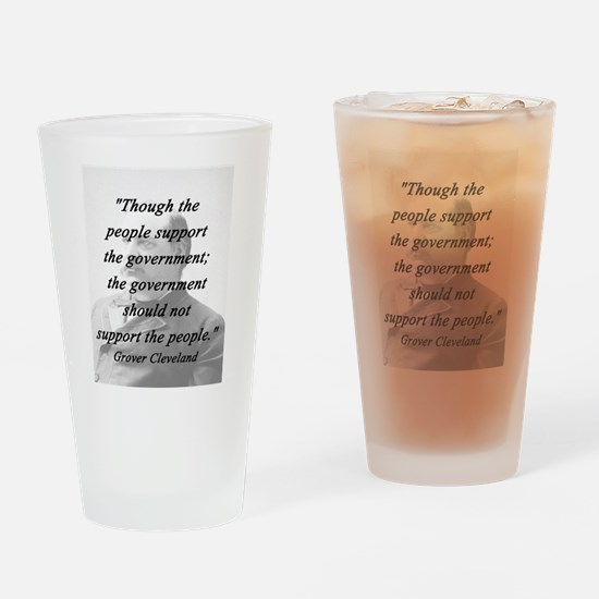 Cleveland - Support Drinking Glass