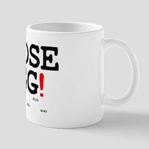 GOOSE EGG! - NOTHING! Small Mug