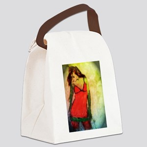 Dancing with the Moon Canvas Lunch Bag