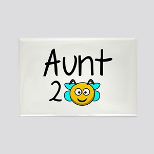 Aunt 2 Bee Rectangle Magnet