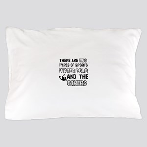 Waterpolo designs Pillow Case