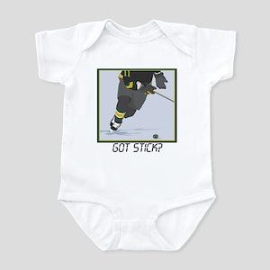 Got Stick?2(Hockey) Infant Bodysuit