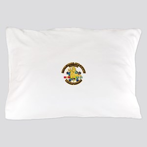 Army - 1-9th CAV w VN SVC Ribbons Pillow Case