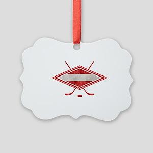 Austria Ice Hockey Flag Ornament