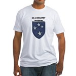 23RD INFANTRY DIVISION Fitted T-Shirt