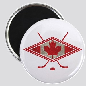 Canadian Hockey Flag Magnet