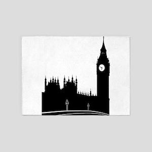 London silhouette 5'x7'Area Rug