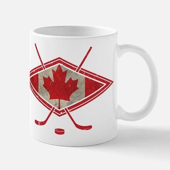 Canadian Hockey Flag Mug