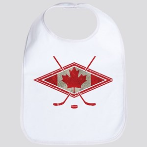 Canadian Hockey Flag Bib