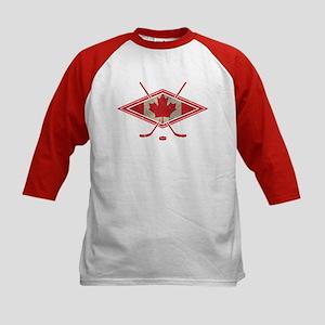 Canadian Hockey Flag Baseball Jersey