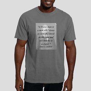 Garfield - Brave Man Mens Comfort Colors Shirt