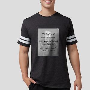 Garfield - Nobody But Radicals Mens Football Shirt