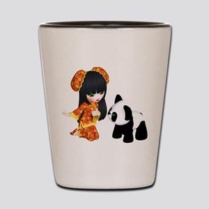 Kawaii China Girl Shot Glass