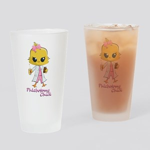 Phlebotomy Chick Drinking Glass
