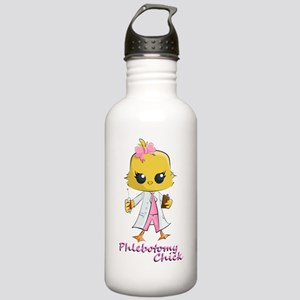 Phlebotomy Chick Water Bottle