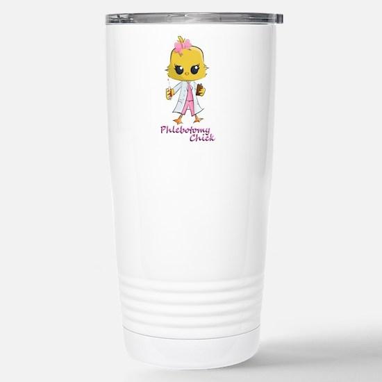 Phlebotomy Chick Travel Mug