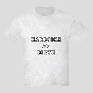 hardcore at birth kids light t-shirt