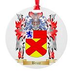 Bruce Round Ornament