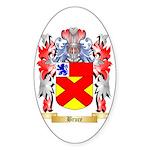 Bruce Sticker (Oval 10 pk)