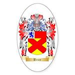 Bruce Sticker (Oval 50 pk)