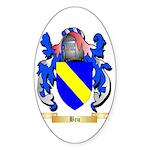 Bru Sticker (Oval 50 pk)