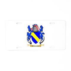 Brownstein Aluminum License Plate