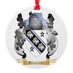 Brownson Round Ornament