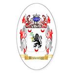 Brownrigg Sticker (Oval 10 pk)