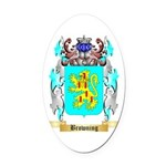 Browning Oval Car Magnet