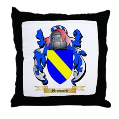 Brownett Throw Pillow