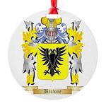 Browne Round Ornament