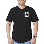 Browne 2 Men's Fitted T-Shirt (dark)