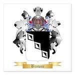 Browne 2 Square Car Magnet 3
