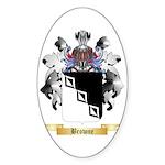 Browne 2 Sticker (Oval 10 pk)