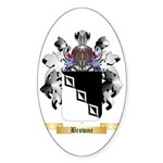 Browne 2 Sticker (Oval 50 pk)