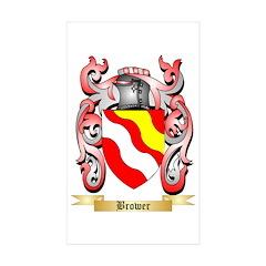 Brower Sticker (Rectangle 50 pk)