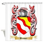 Brower Shower Curtain