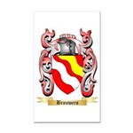 Brouwers Rectangle Car Magnet