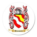 Brouwers Round Car Magnet