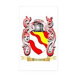 Brouwers Sticker (Rectangle 10 pk)