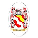 Brouwers Sticker (Oval 50 pk)