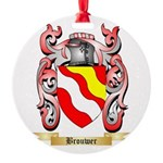 Brouwer Round Ornament