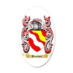 Brouwer Oval Car Magnet