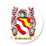 Brouwer Round Car Magnet