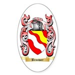 Brouwer Sticker (Oval 10 pk)